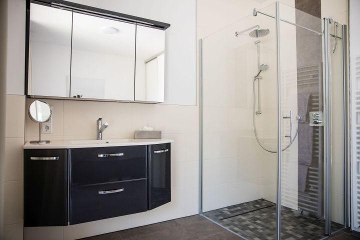 Integriertes Bad im Schlafzimmer