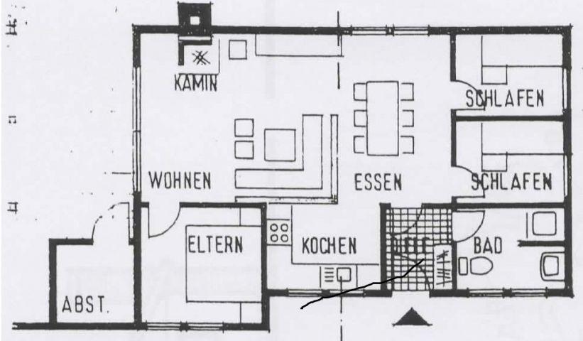 Grundriss vom Haus
