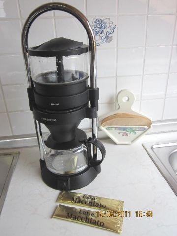 wunderbarer, aromatischer heißer Kaffee...