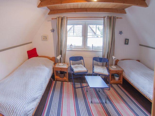 2. Schlafraum mit den Einzelbetten
