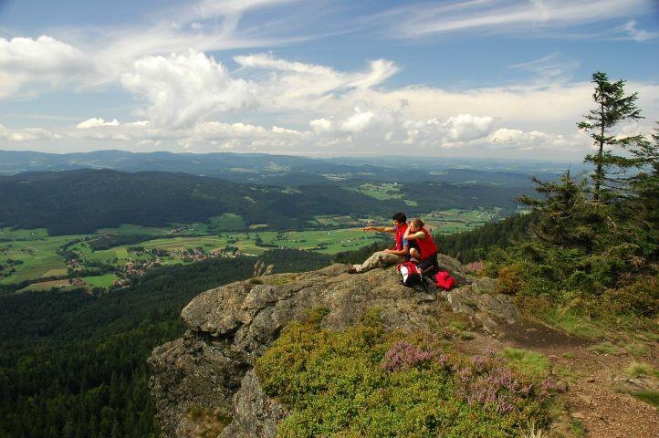 Blick vom Kaitersberg