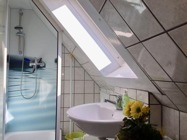 Duschbad (Höhe Dusche ca. 1,80m)