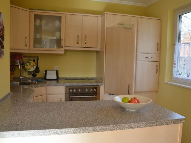 Die komfortable Küche