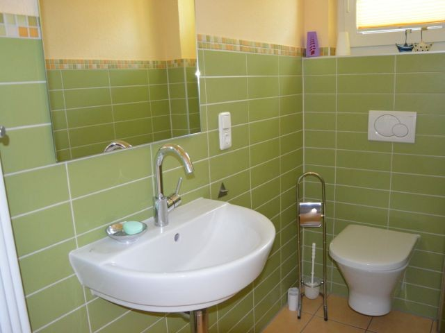 Das moderne Gäast-WC