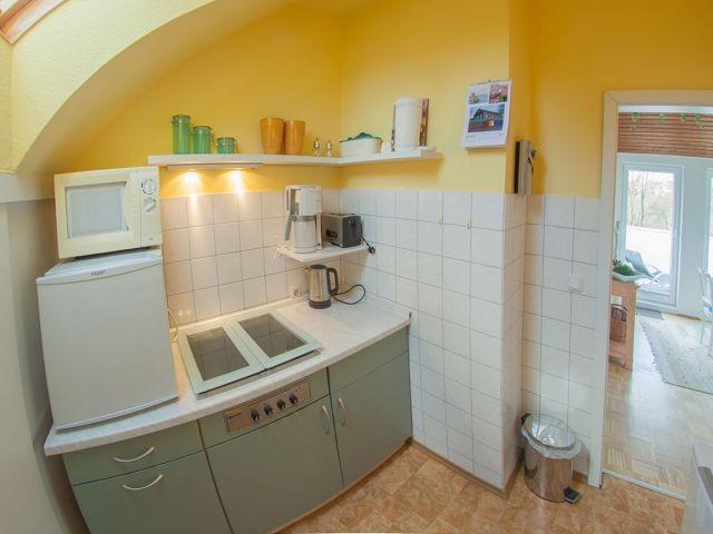 Küche in Sonnenfarben