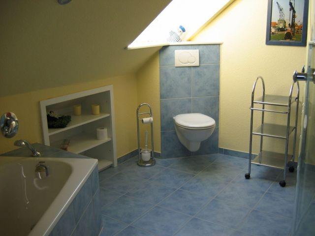 Das Badezimmer in frischen Farben