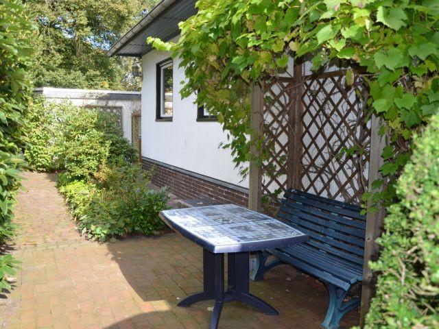 Sitzplatz im Garten zur Nutzung