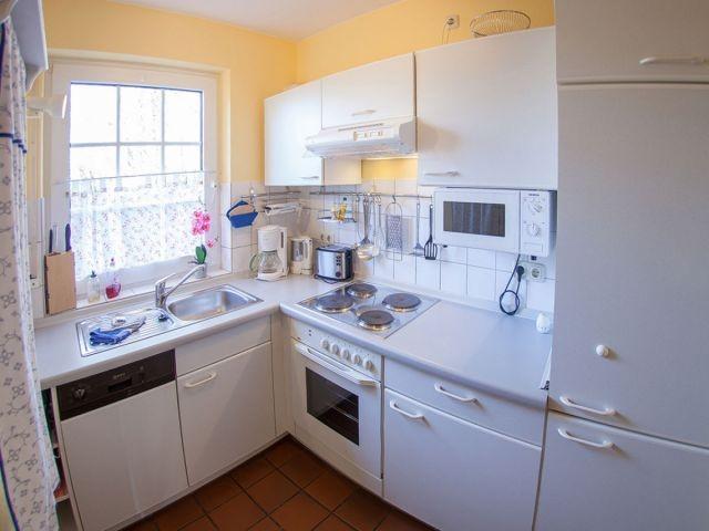 Separate Küche mit allem Komfort
