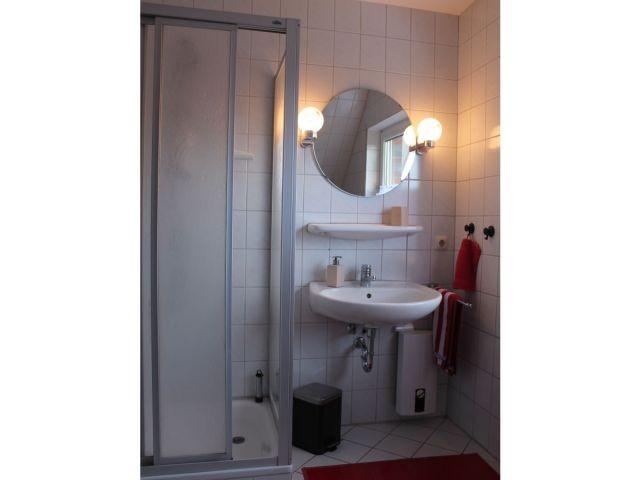 ... und der Waschplatz mit Dusche