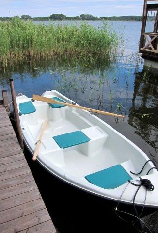 Ruderboot inklusive, Motorboot mietbar