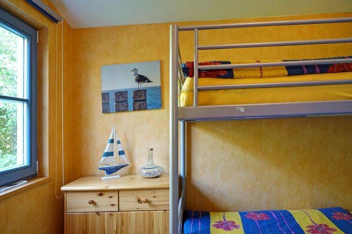 Schlafbereich mit Etagenbett
