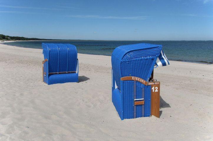 nehegelegener Strand Sellin