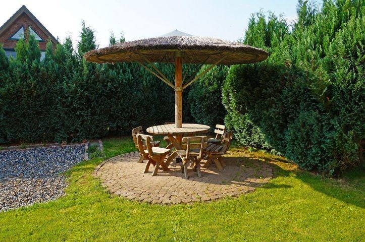 Gartenpilz zum Relaxen