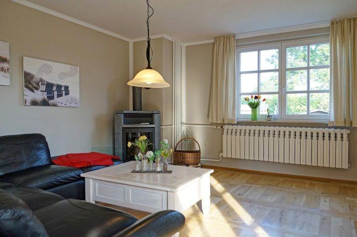 Wohnzimmer Ferienhaus Ostseetraum