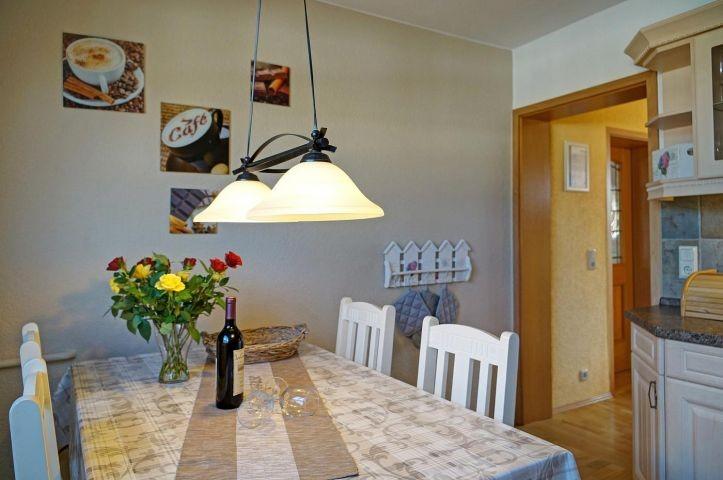 """Essecke der Küche Ferienhaus""""Ostseetraum"""""""