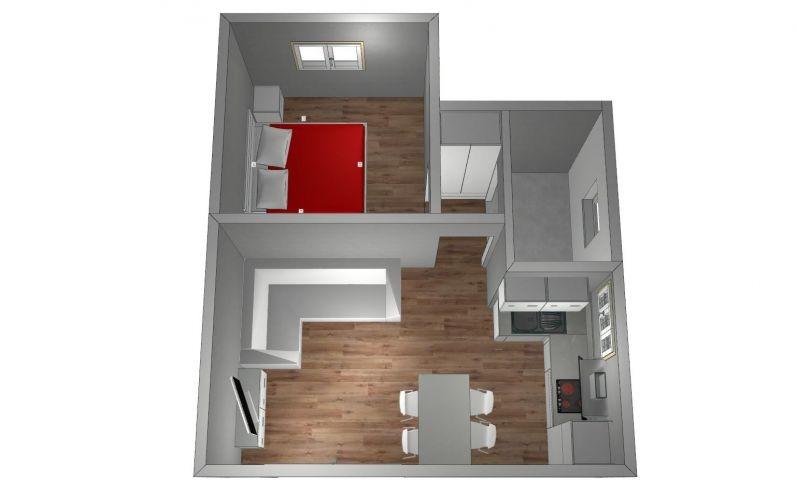 Wohnungsskizze ohne Terrasse