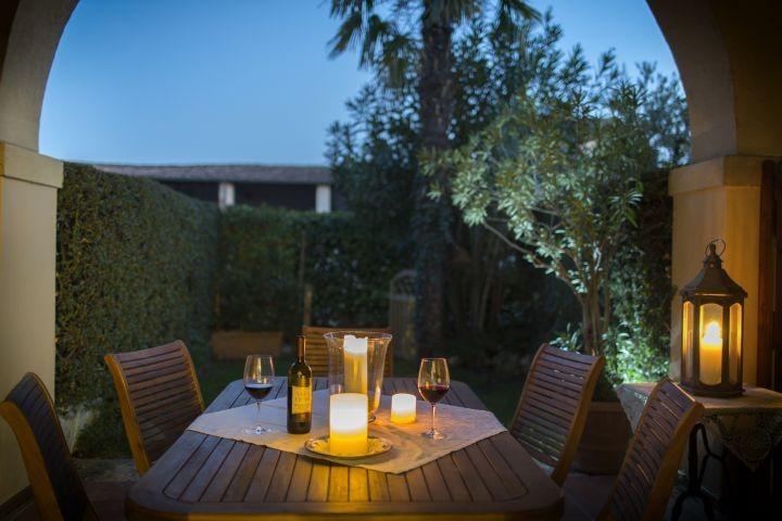 Abendstimmung im Portico