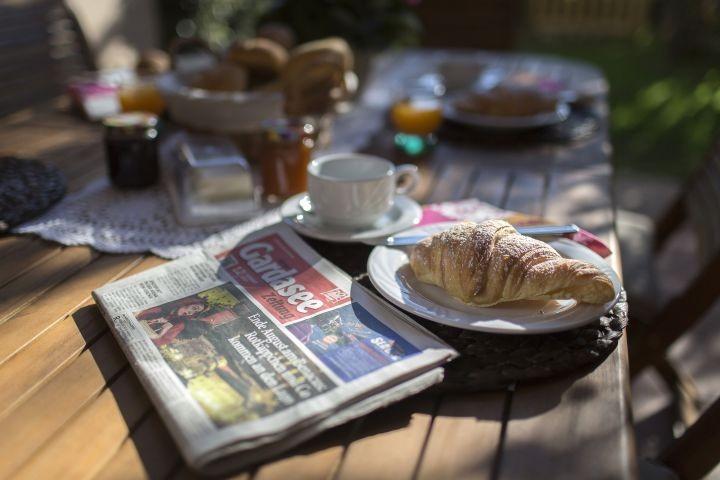 Frühstück im Portico