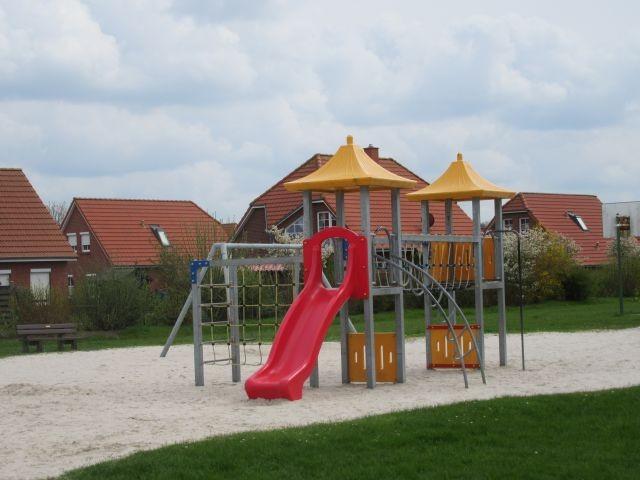 Spielgerät in der Siedlung