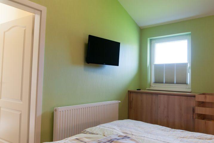 Ein 2. Fernseher im Schlafzimmer