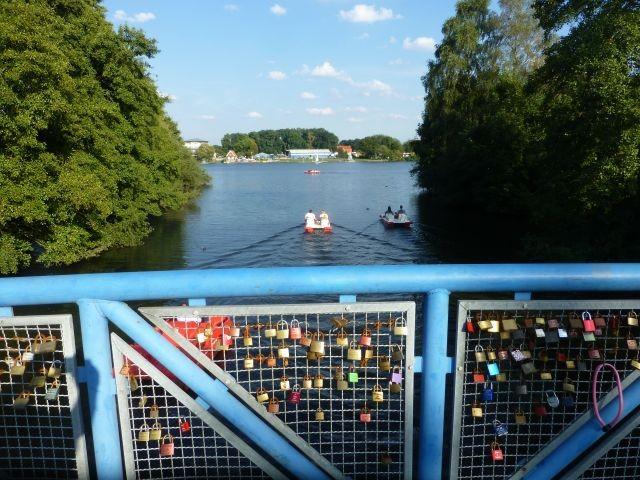 Vechtesee Nordhorn, Tretboote, Kanus ...