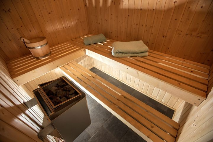 In jedem Haus eine eigene Sauna