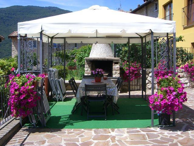 Terrasse mit Barbeucue