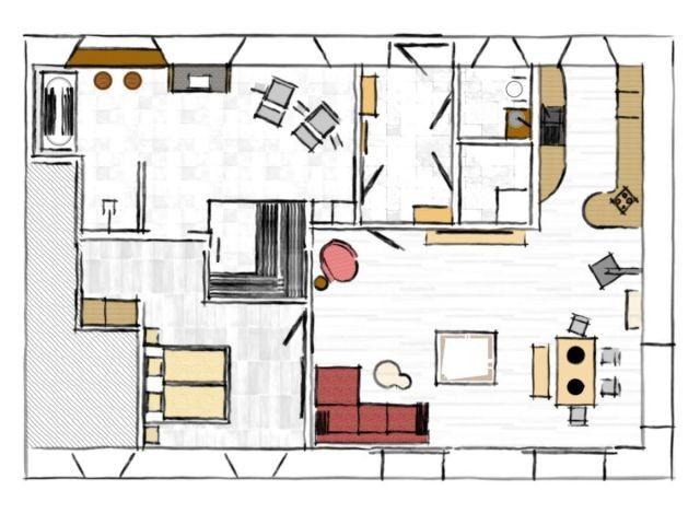 120 m² zum Wohnen und Wohlfühlen