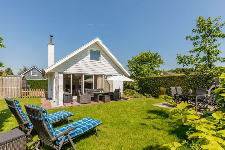 Das gemütliche Ferienhaus mit sonnigem, eingezäuntem Garten