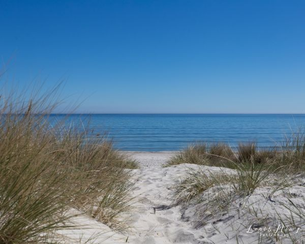am Strand von Breege