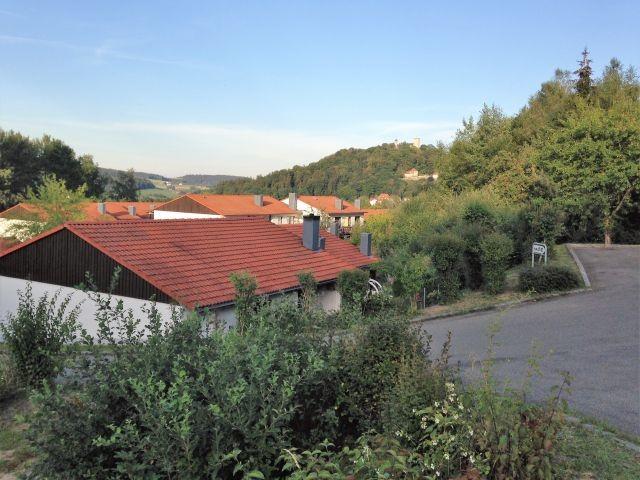Blick auf die Burg Falkenstein
