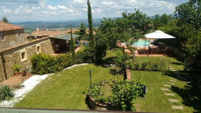Übersicht Haus und Garten, von oben