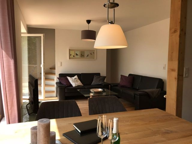Ferienhaus Wildbeere - Wohnzimmer
