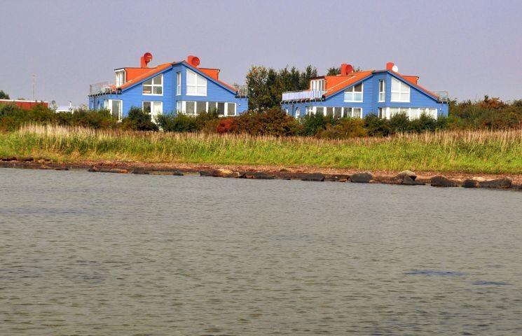 Das blaue Haus in Westerbergen