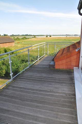 Balkon auf der Ostseite