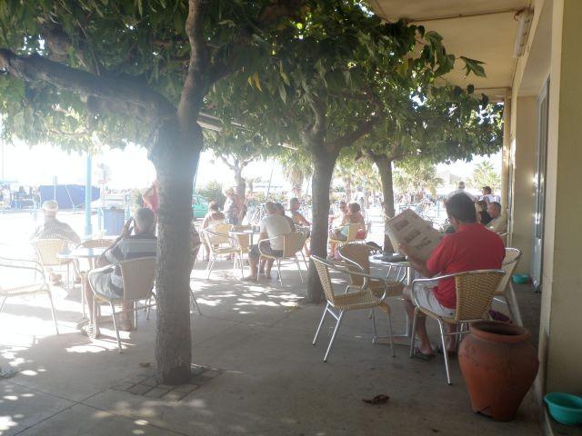 schattige Cafes