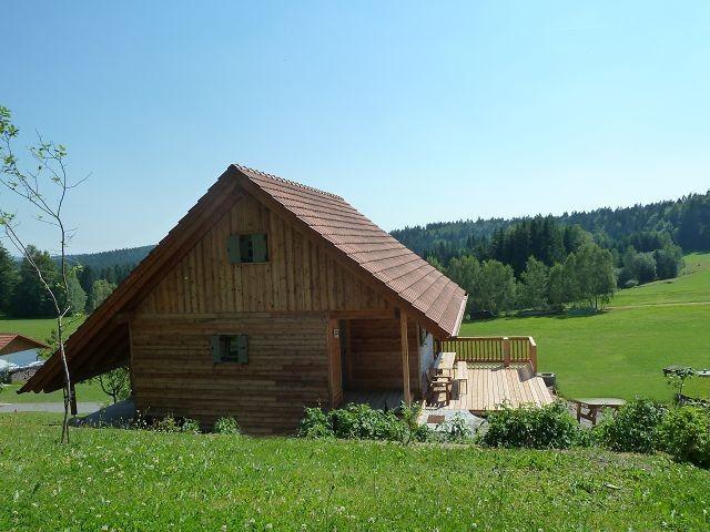 Haus mit Terrasse und Blick auf den Nationalpark