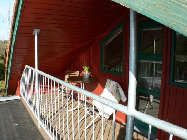 Balkon am großen Schlafzimmer
