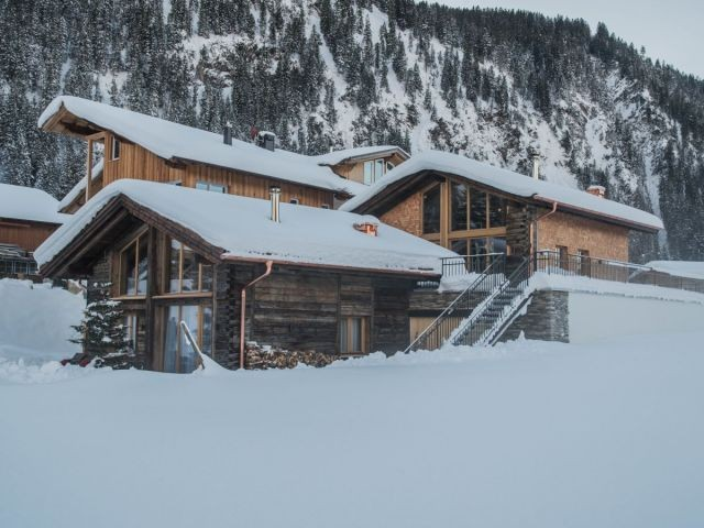 Felixe´s Lodge im Winter