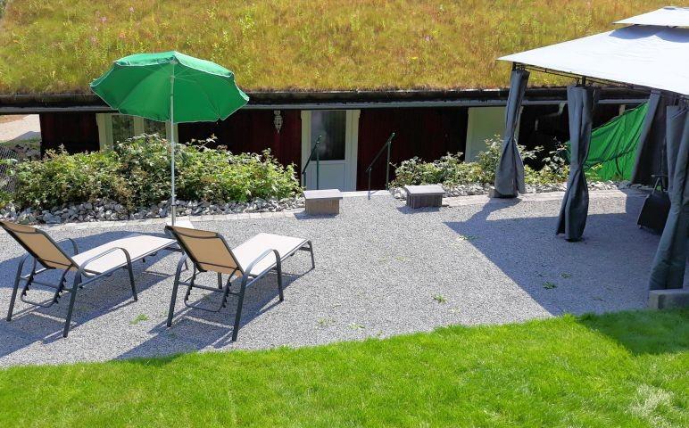Garten von Haus Biberbüsch