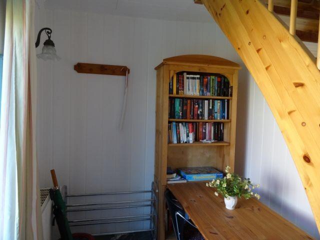 Bibliothek im Erdgeschoß