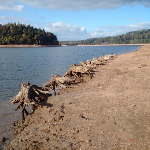 Lac Pierre Percée (Spätherbst)