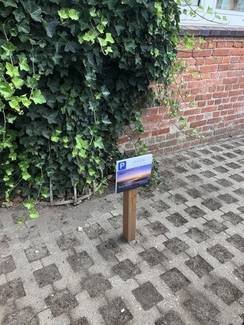 Ihr eigener Parkplatz