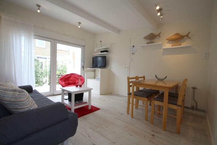 Wohnzimmer mit Große Schiebetür