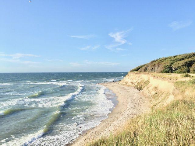 """""""Unser"""" Strand hinter dem Haus (400m Fußweg)"""