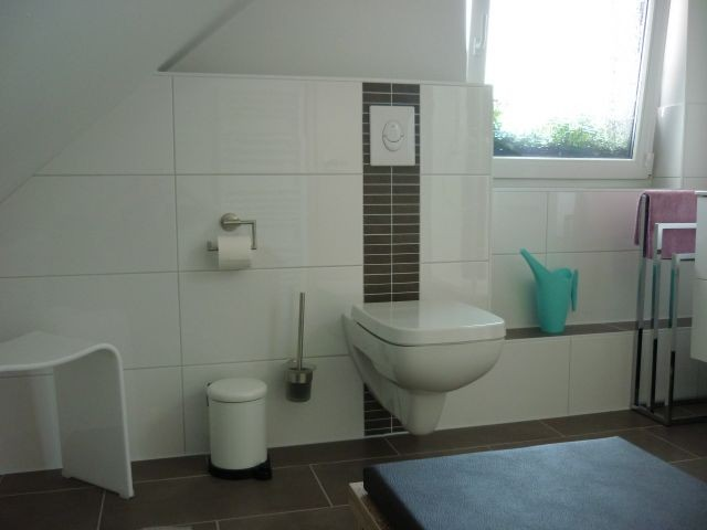 WC im Bad oben