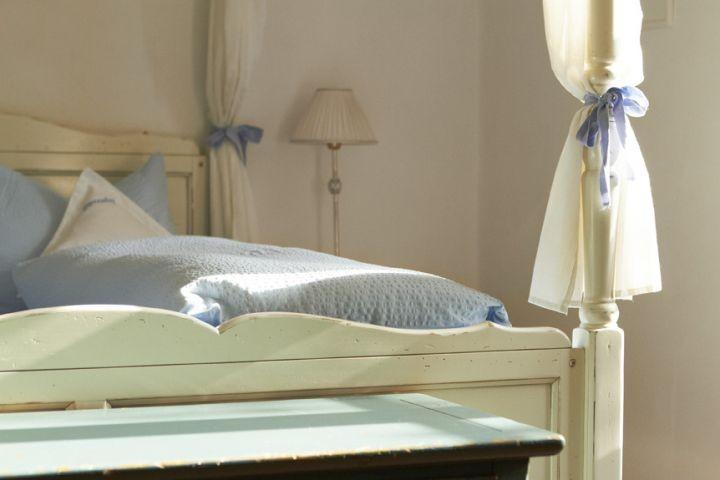 das Himmelbettschlafzimmer