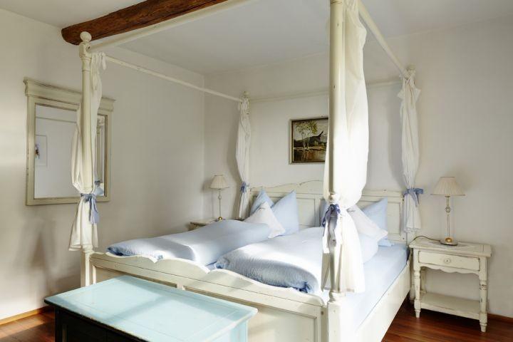 Himmelbettschlafzimmer