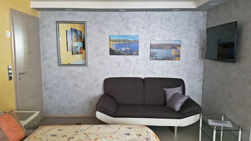 Schlafzimmer 2 Sitzecke