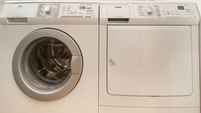 Waschmaschine u. Trockner